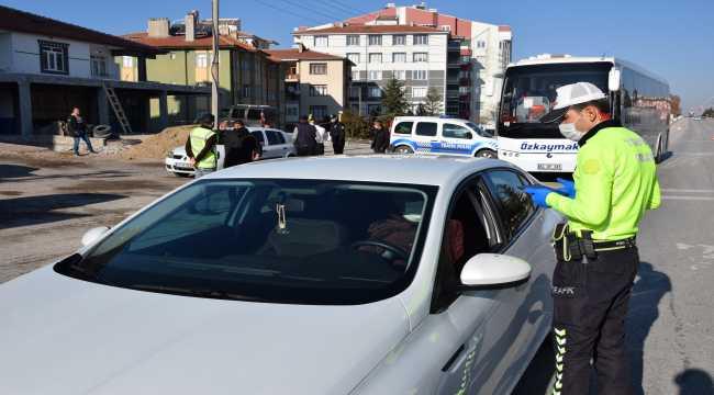 'Türkiye Huzur, Güven Uygulaması' denetimleri yapıldı
