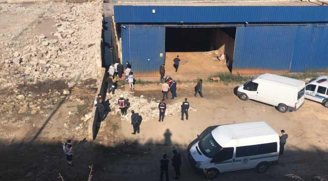 Mersin'de 25 yaşındaki kişi fabrika yanındaki su birikintisinde ölü bulundu