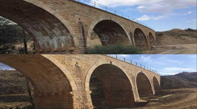 Samsun-Sivas demir yolu hattındaki 48 tarihi köprü güçlendirildi