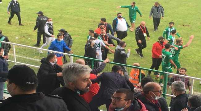 Serik Belediyespor, Kırşehir Belediyespor maçı sonrası gerginlik yaşandı