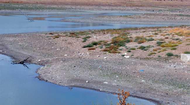 Sorgun'da gölet ve derelerde su seviyesi düştü