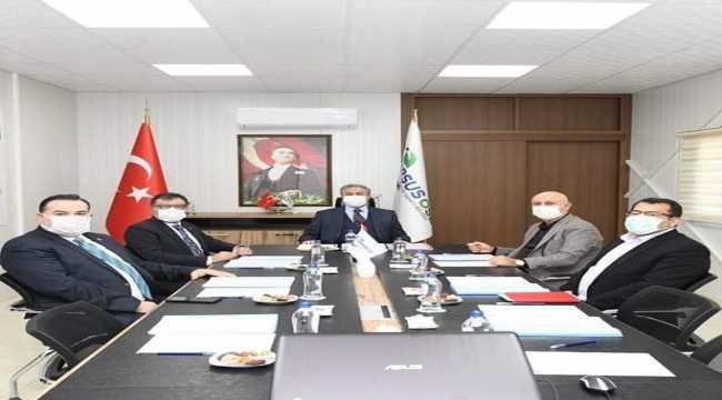 Tarsus OSB müteşebbis heyeti toplantısı yapıldı