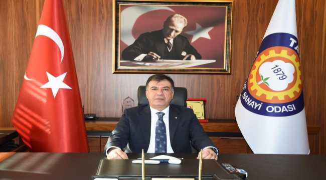 Tarsus TSO Başkanı Ruhi Koçak: