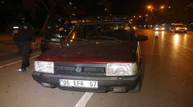 Polisten kaçan alkollü sürücü yakalandı