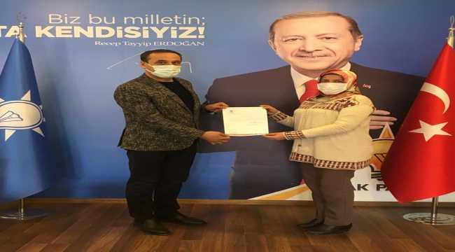 AK Parti Beypazarı İlçe Kadın Kollarına yeniden Sabriye Yılmaz görevlendirdi