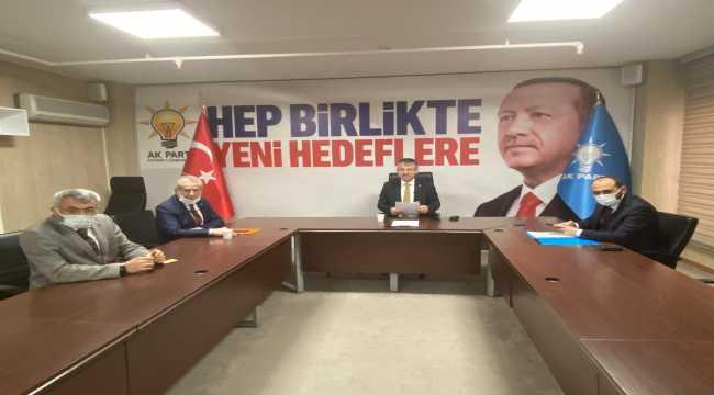 AK Parti Kayseri İl Başkanı Çopuroğlu değerlendirme toplantısına katıldı
