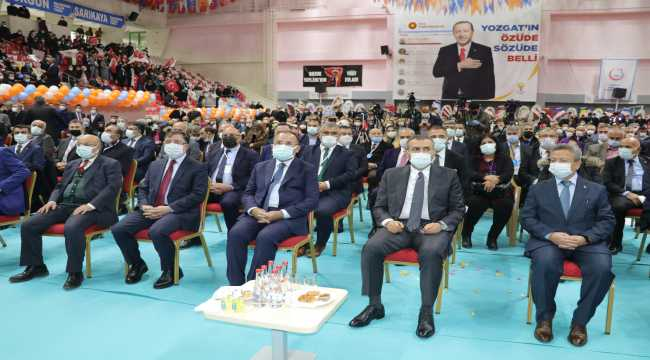 AK Parti Yozgat İl Başkanı Yusuf Başer, güven tazeledi