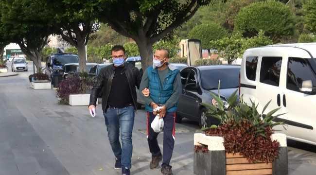 Antalya'da karısı ve çocuklarına şiddet uygulayan kişi gözaltına alındı