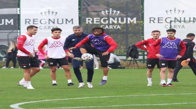 Antalyaspor'da Göztepe maçı hazırlıkları başladı