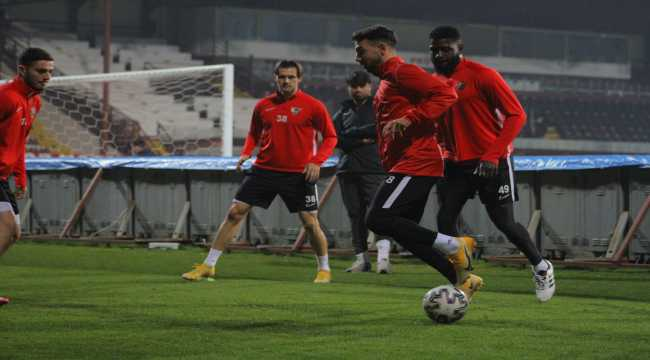 Hatayspor, Beşiktaş maçı hazırlıklarını tamamladı