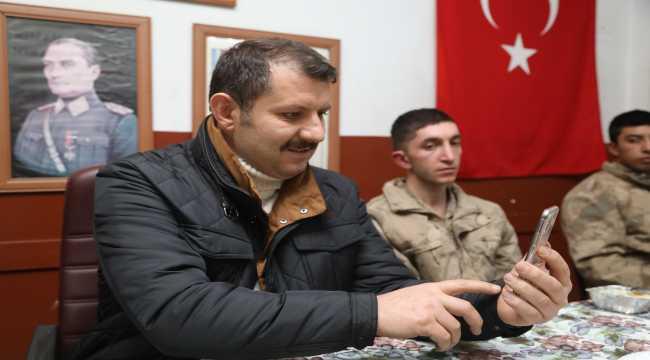 Bakan Soylu, Sivas'ta görev yapan Mehmetçiğin yeni yılını kutladı