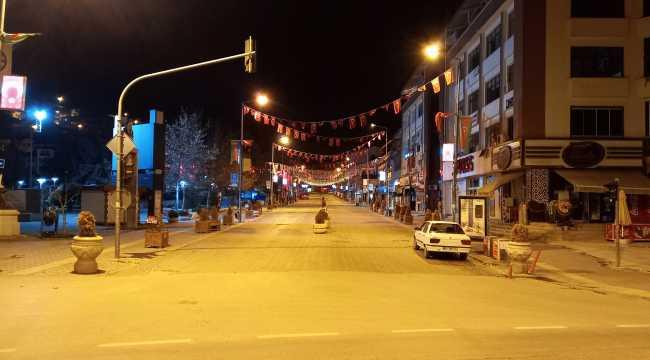 Beypazarı'nda kısıtlama sessizliği