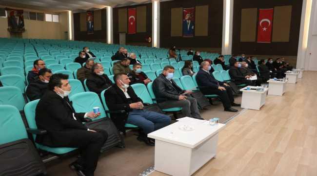 Beyşehir Belediyesi'nde 2021'in ilk meclis toplantısı yapıldı