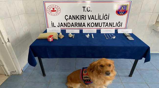 Çankırı'da uyuşturucu operasyonunda gözaltına alınan bir kişi tutuklandı