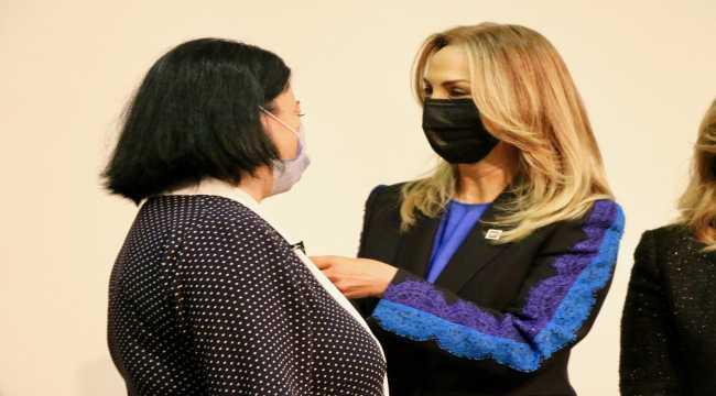 CHP Kadın Kolları Genel Başkanı Nazlıaka, Eskişehir'de