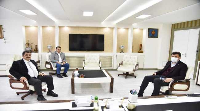 EESOB Başkanı Birsen, AK Parti İl Başkanı Çalışkan'ı ziyaret etti