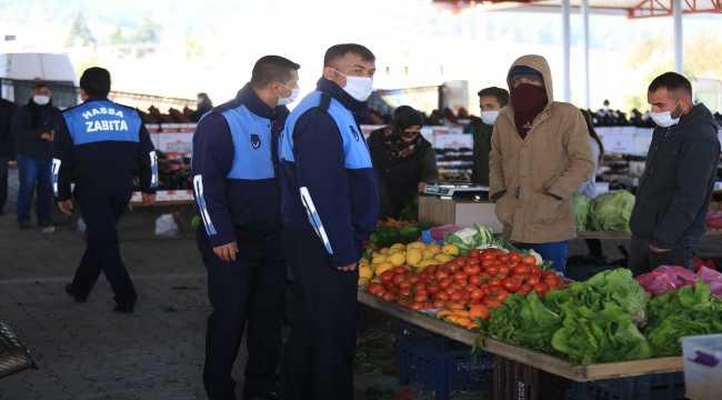 Hassa'da Kovid-19 tedbirleri nedeniyle kapanan pazar yerleri yeniden açıldı