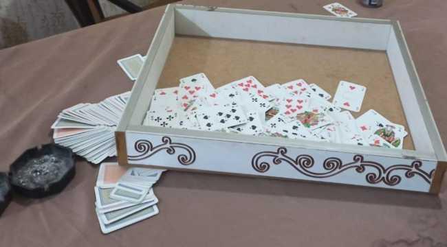 Hatay'da kumar oynayan 6 kişiye 44 bin 100 lira ceza kesildi