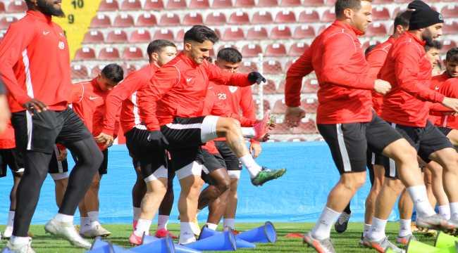 Hatayspor, Denizlispor maçı hazırlıklarını sürdürdü