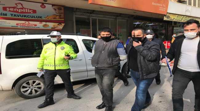 Kahramanmaraş'ta cezaevi firarisi başkasına ait kimlikle yakalandı