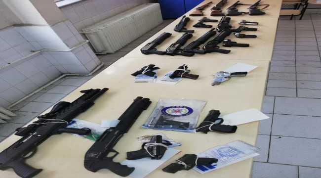 Kahramanmaraş'ta son bir ayda 97 silah yakalandı