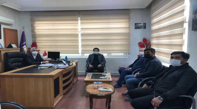 Karapınar Kaymakamı Murat, ziyaretlerini sürdürüyor