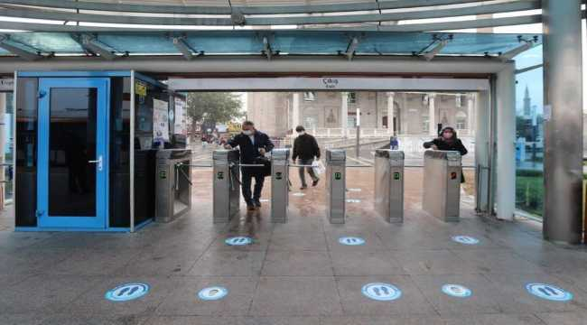 Kayseri'de HES kodu uygulaması ile 1516 kişinin toplu taşıma araçlarını kullanması engellendi