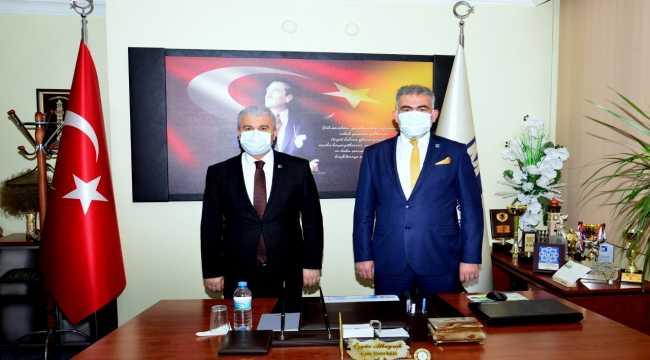 Vali Akın'ın STK ziyaretleri devam ediyor