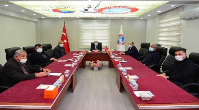 Kırşehir Valisi İbrahim Akın, KTB'yi ziyaret etti