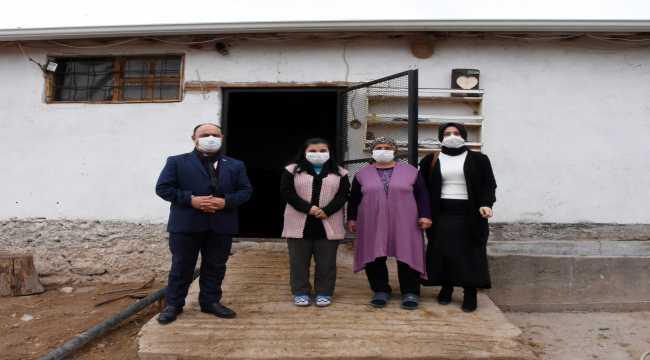 Köyde yaşayan engelli Günyeli'nin yüzü devlet desteğiyle güldü