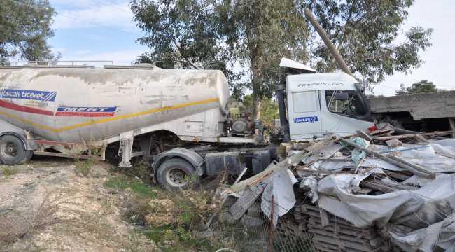 Mersin'de trafik kazası: 1 yaralı