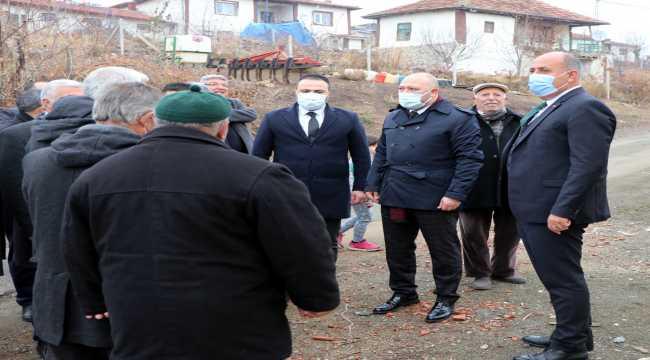 MHP'den Bedesten ve Kılıçlar köyüne ziyaret