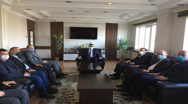 MHP Sivas Milletvekili Özyürek Suşehri ilçesini ziyaret etti