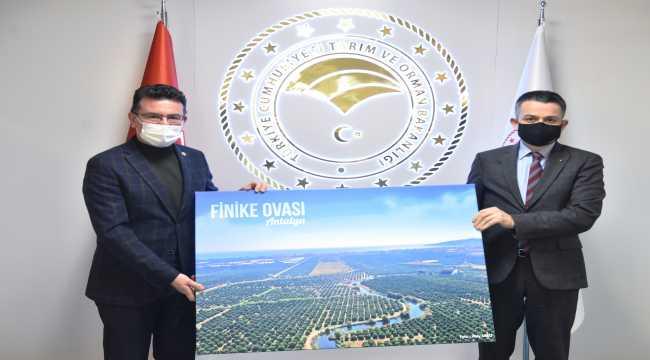 Milletvekili Uslu, Bakan Pakdemirli'yi ziyaret etti