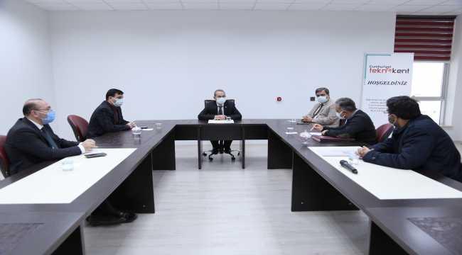 Sivas'ta Cumhuriyet Teknokent Yönetim Kurulu toplandı