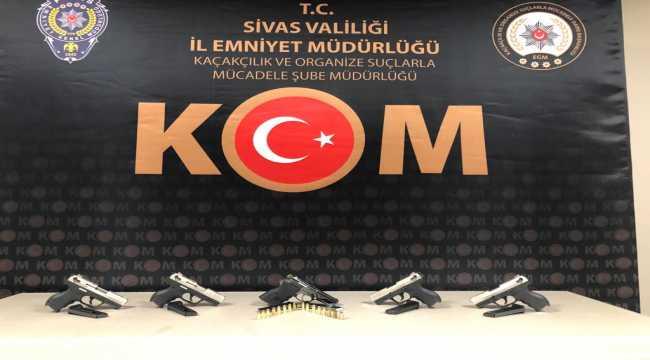 Sivas'ta uyuşturucu operasyonu