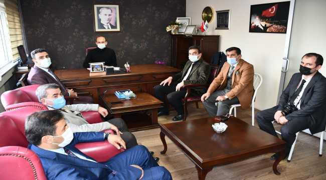 Sivas'taki oda başkanlarından AA'ya ziyaret