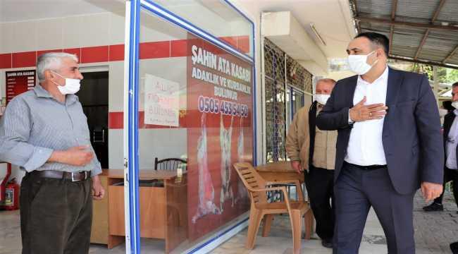 Toroslar Belediyesinden esnafa destek