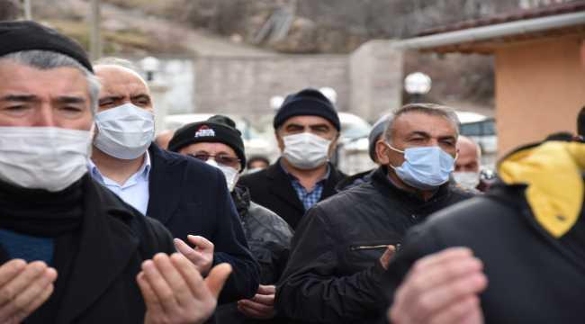 Kore gazisi İbrahim Alp son yolculuğuna uğurlandı