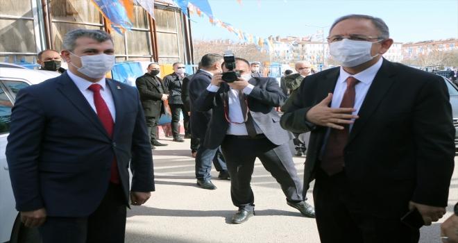 AK Parti Genel Başkan Yardımcısı Mehmet Özhaseki partisinin Aksaray il kongresinde konuştu: