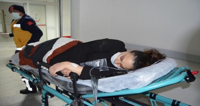 Aksaray'da doğum sancıları başlayan kadının yardımına ekipler yetişti