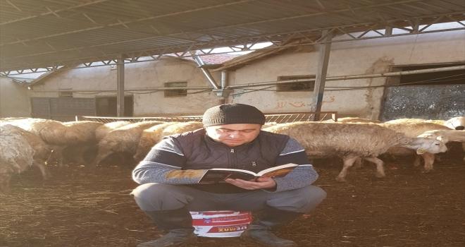 Aksaray'da kitap okuma etkinliğine yoğun ilgi