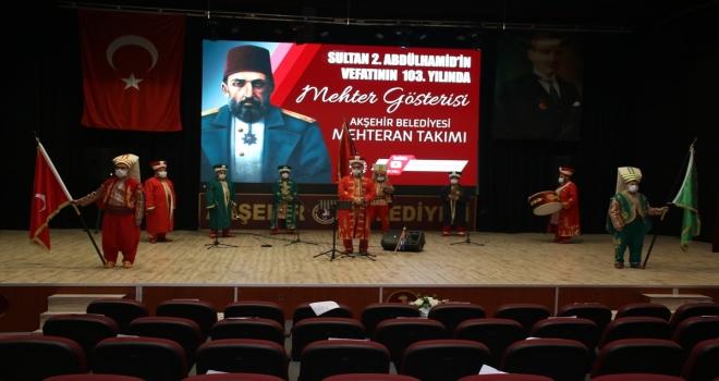 Akşehir'de Sultan 2. Abdülhamid Han anıldı