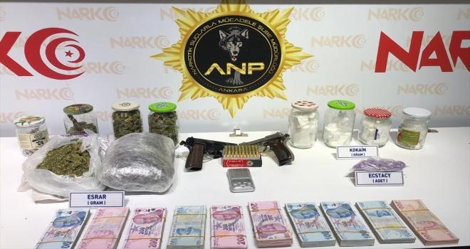 Ankara'da uyuşturucu operasyonu: 2 gözaltı
