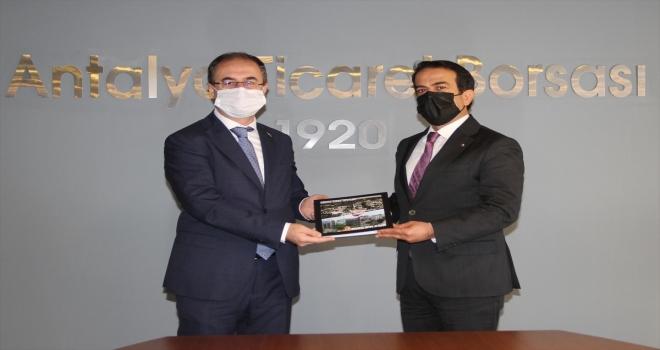 Antalya Vergi Dairesi Başkanı İlhan Karayılan'dan ATB'ye ziyaret