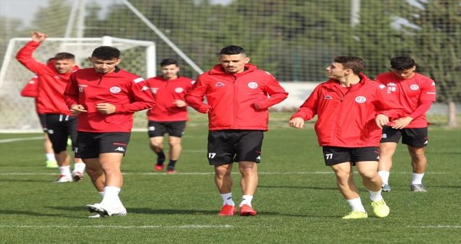 Antalyaspor, Türkiye Kupası'ndaki Sivasspor maçının hazırlıklarını tamamladı