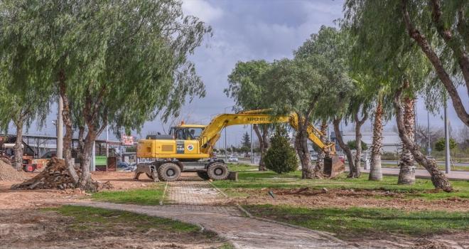 Beşkonaklılar Mahallesi'ne 5 bin metrekarelik yeşil alan kazandırılıyor