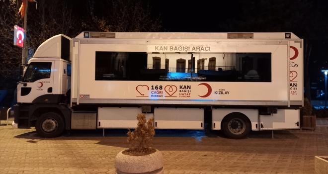 Beypazarı'nda kan bağışı kampanyası düzenlendi