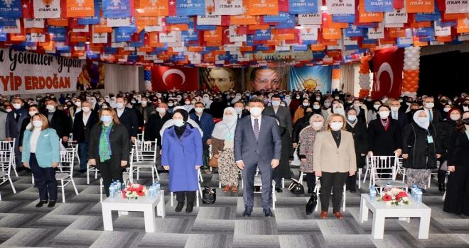 Eskişehir'de AK Parti İl Kadın Kolları 6. Olağan Kongresi yapıldı