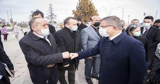 Gelecek Partisi Genel Başkanı Davutoğlu partisinin Kahramankazan İlçe Kongresine katıldı